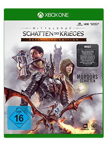 Mittelerde: Schatten des Krieges Definitive Edition (Xbox One) für 17,99€ (Amazon Prime)