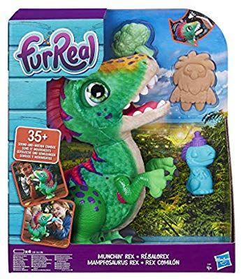 Hasbro E0387EU4 FurReal Mampfosaurus Rex, elektronisches Haustier [Amazon & Smythstoys Abholung]