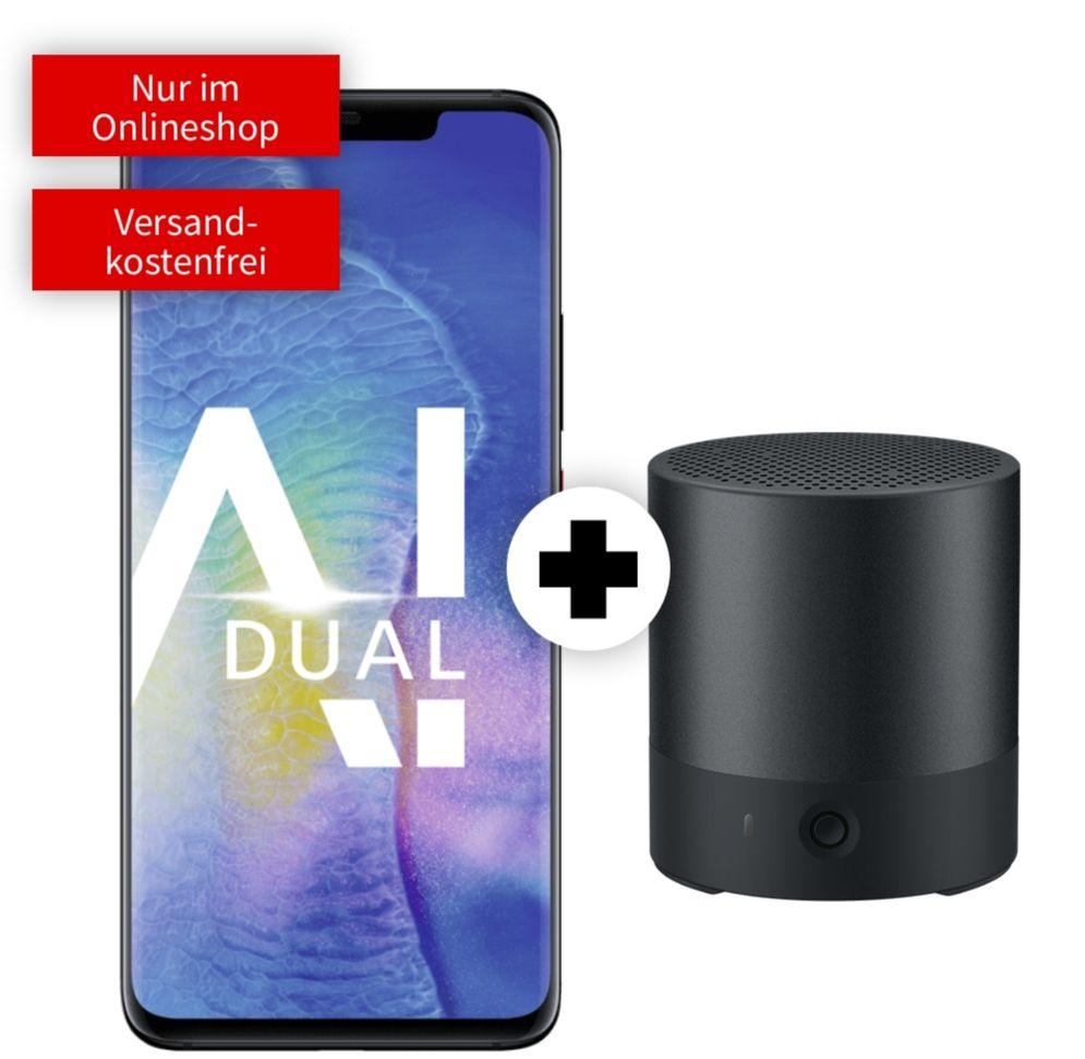 Huawei Mate 20 Pro und Mini Speaker im Debitel Vodafone (4GB LTE, Allnet) mtl. 17,99€ und einmalig 4,99€