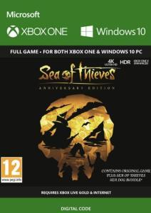 Sea of Thieves: Anniversary Edition (Xbox One/PC Play Anywhere) für 19,79€ (CDkeys)