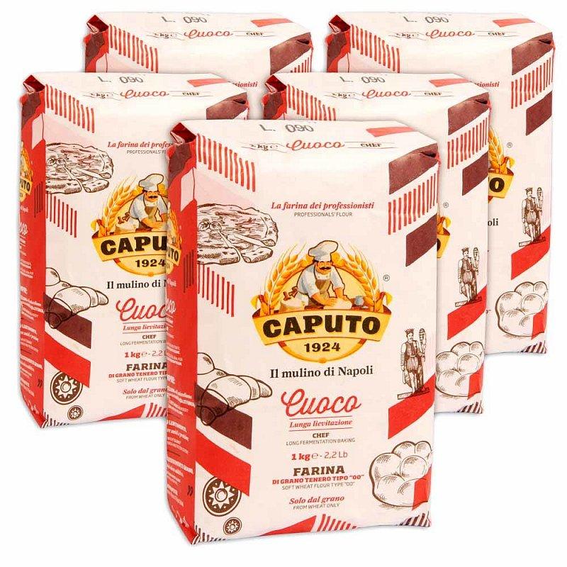 5x1kg Pizzamehl - Caputo Farina 00 Pizza Chef (durch 12€-Gutschein, der eigentlich nur 12% abziehen sollte)