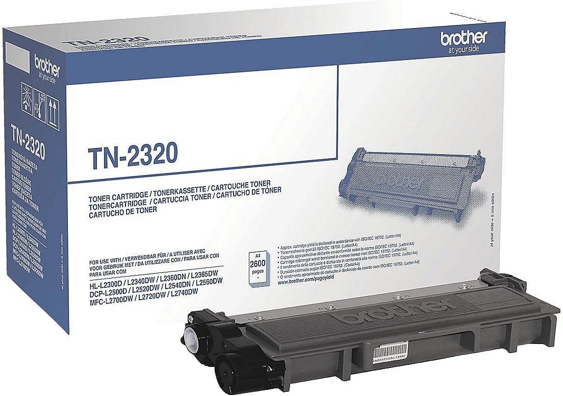 """Tinte, Toner & Taschen bei Taturn: z.B. Brother TN-2320 - 45€ (1.7 Cent/Seite)   Samsonite Desklite Notebooktasche bis 15.6"""" - 39,99€"""