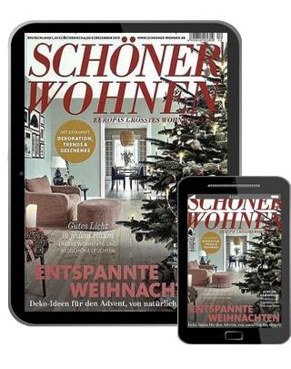 Schöner Wohnen Abo (12 digital Ausgaben) für 49,96 € mit einem 50 € BestChoice-Gutschein oder einem 45 € BC inkl. Amazon (Kein Werber nötig)