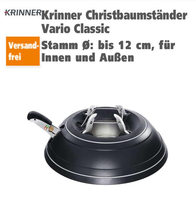 Globus Baumarkt-Krinner Christbaumständer Vario Classic Online