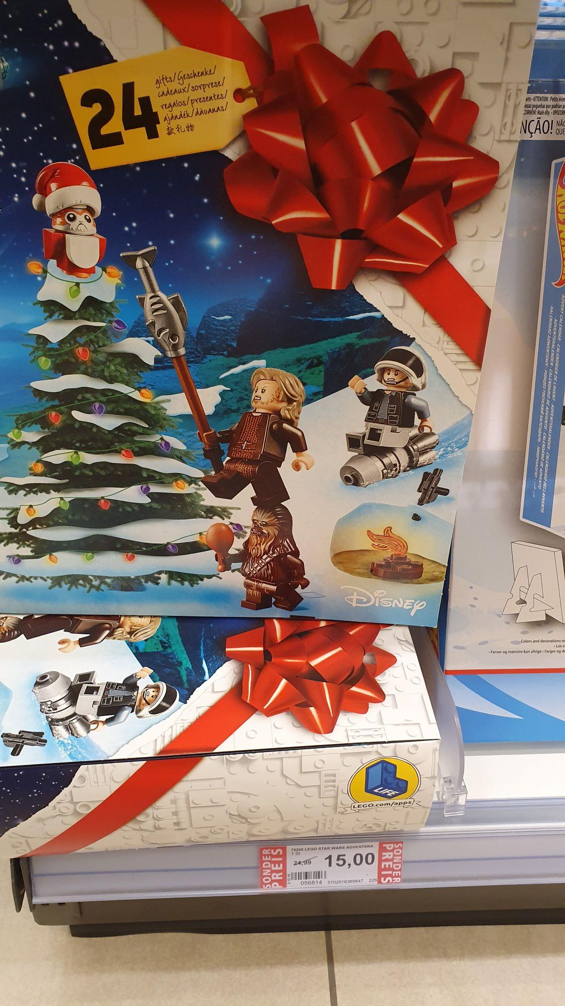 [Lokal WÜ] Lego Star Wars Adventskalender 75245
