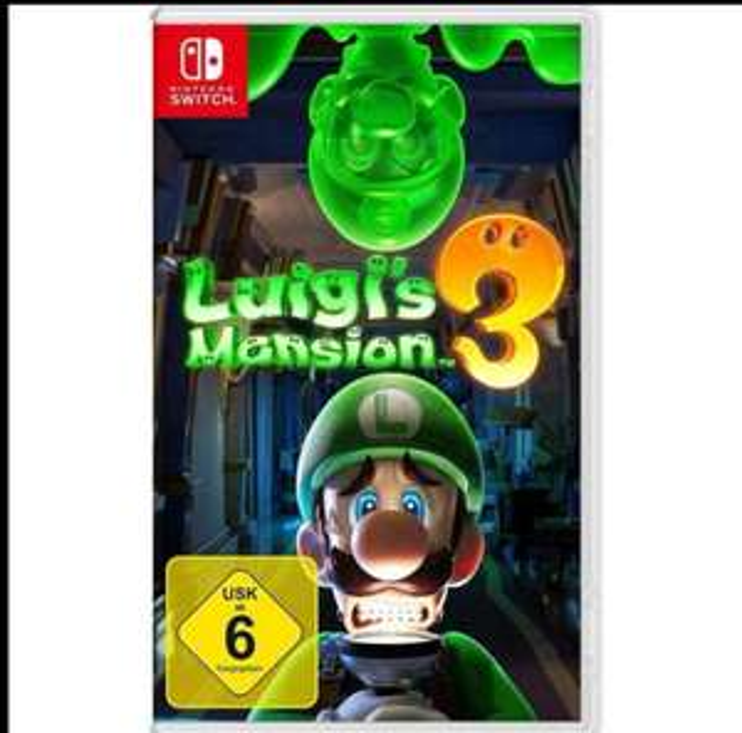 (Alternate/Paydirekt) Luigi's Mansion 3 Nintendo Switch // Check24 App (personalisiert)