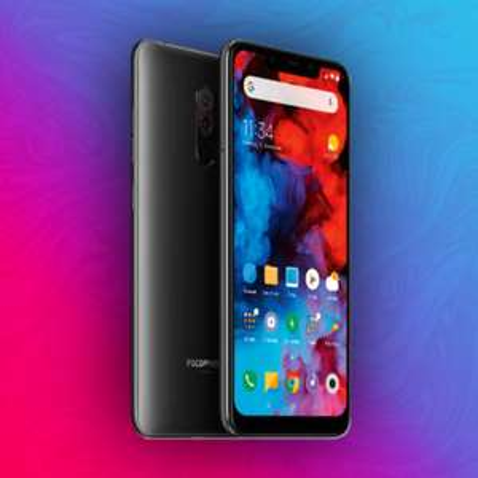 Xiaomi Pocophone F1 128/6GB - Snapdragon 845 - 4000mAh Akku - Global Version   Versand aus DE