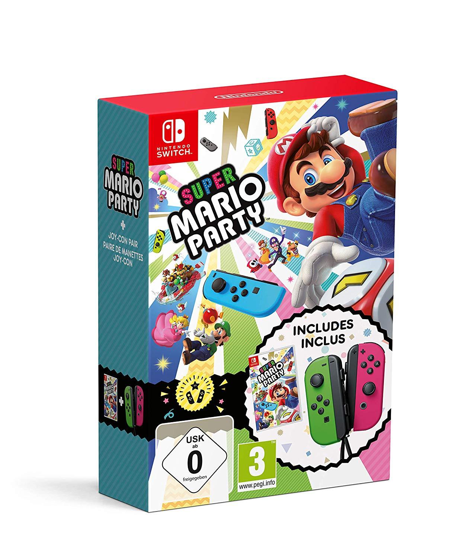 Super Mario Party + Joy-Con Set (Switch) [Amazon]