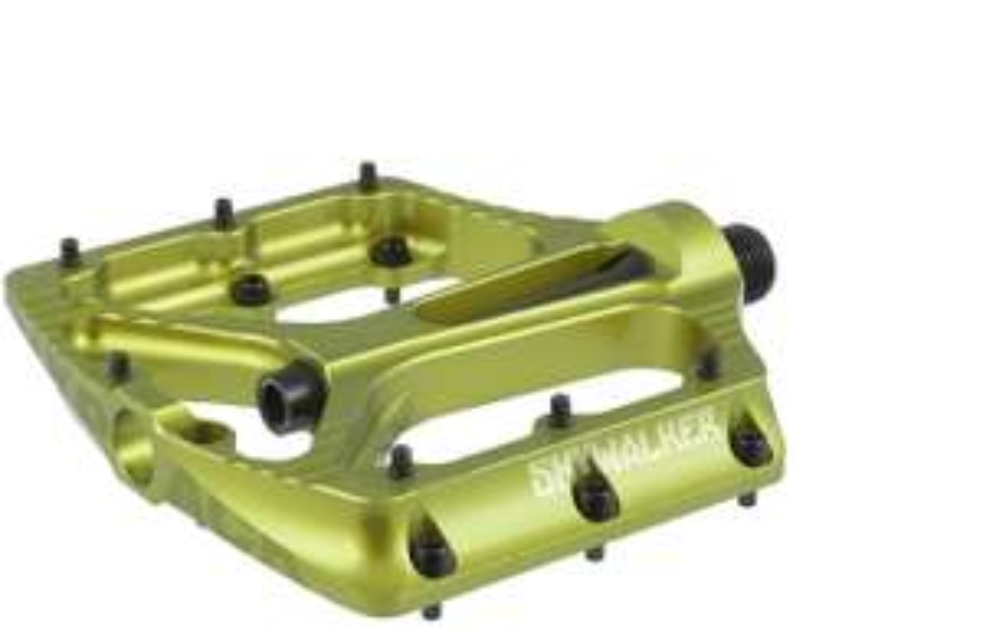 MTB Plattformpedal Sixpack SKYWALKER 3 (378gr) - Rot / Blau / Grau / Electric Green