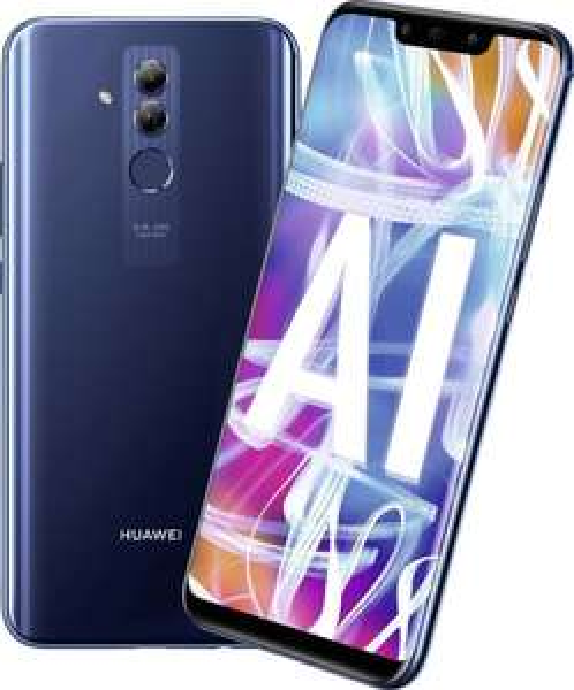 HUAWEI Mate20 lite Dual-SIM blue Android 8.1 Smartphone mit Dual-Kamera [Mediamarkt]
