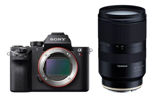 Sony Alpha 7R II (ILCE-7RM2) Systemkamera inkl. Tamron 28-75mm f/2,8 Di III RXD Objektiv, 5 Jahre Garantie & 3 Jahre Sensorreinigung