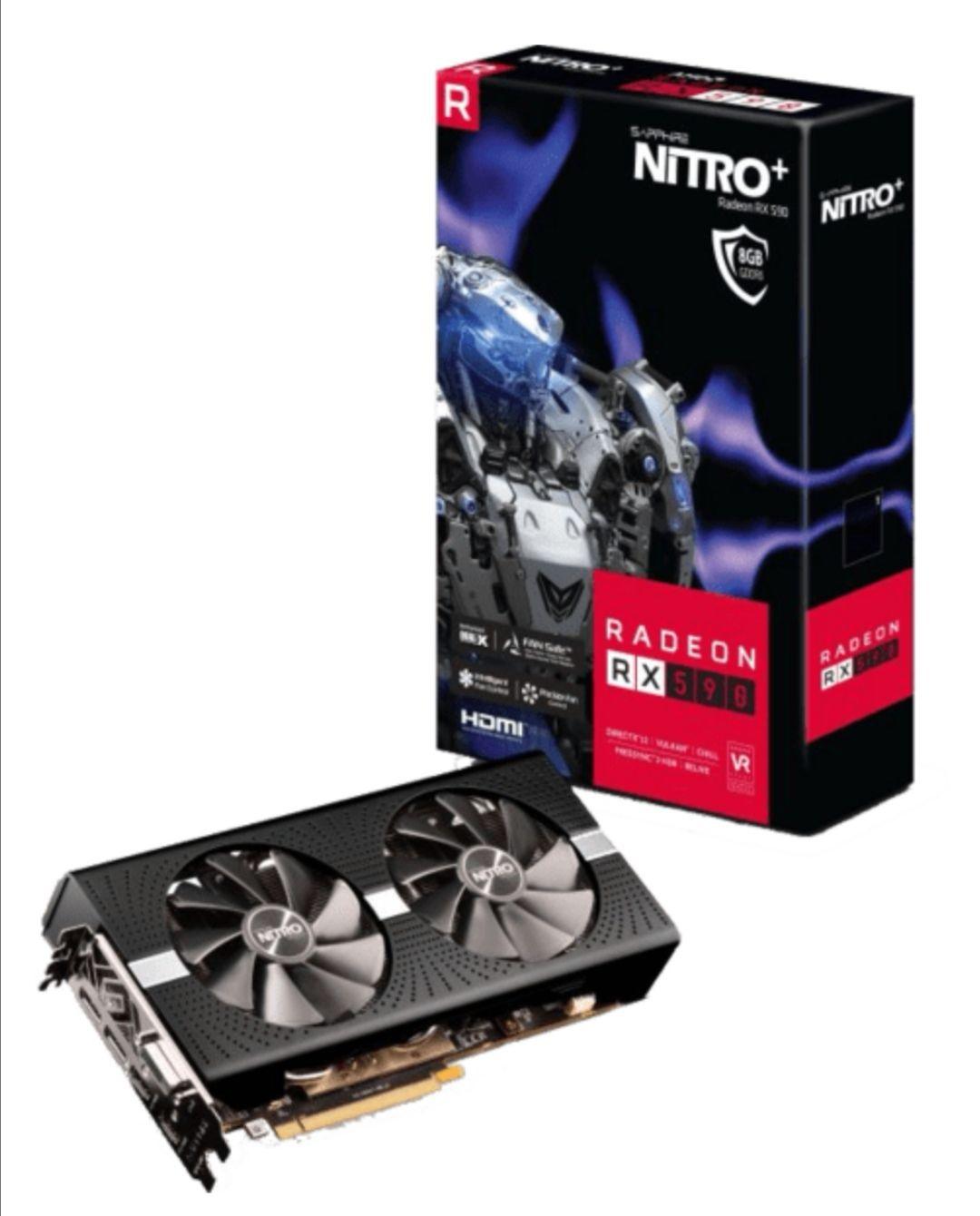 (Österreich) Sapphire RX 590 Nitro+