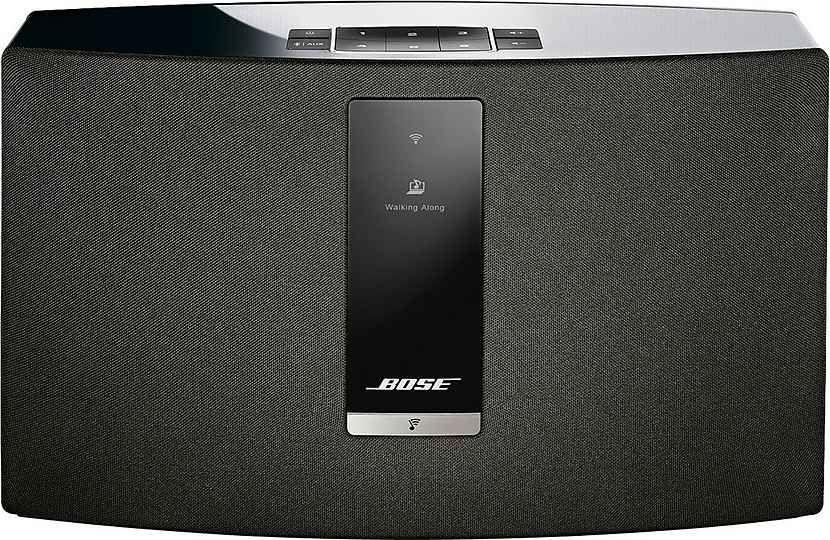 BOSE SoundTouch 20 III Weiß & schwarz Netzwerk Lautsprecher [Schwab App]