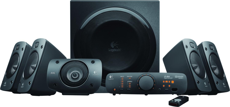 Logitech Z906 Lautsprecher - 500W RMS, THX Dolby Digital 5.1, DTS Digital, Surround Sound für 160,70€ (Amazon UK)