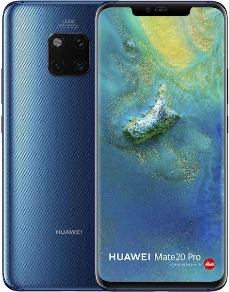 Huawei Mate 20 Pro - Black, Twilight und Midnight Blue - CH und LIE