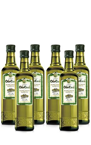 (Fratelli Carli) Neukundenangebot: Olivenöl (6x0,5) + Karaffe + Versand