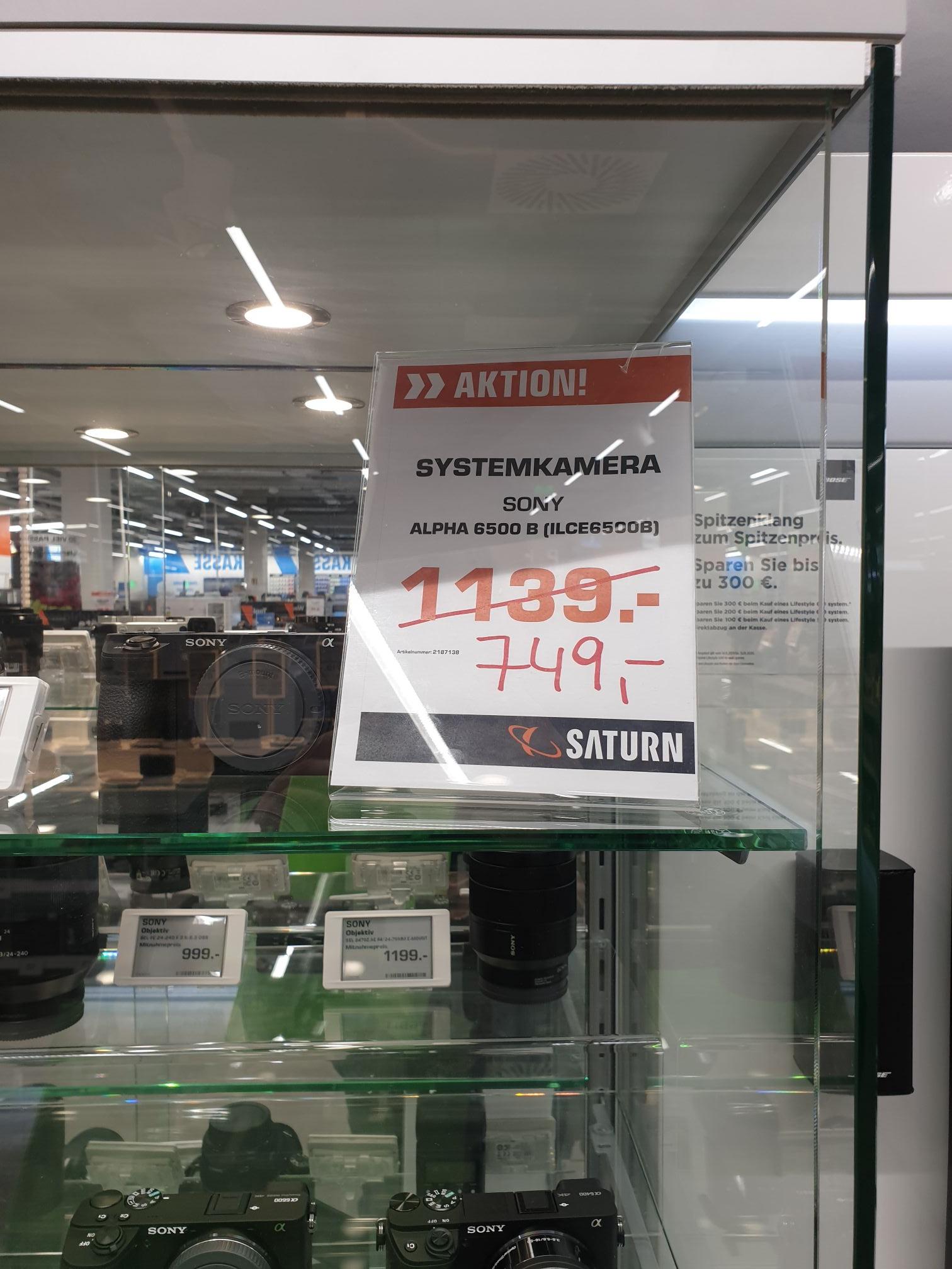 Sony Alpha 6500 Body (Lokal Berlin Saturn Eastside Mall)