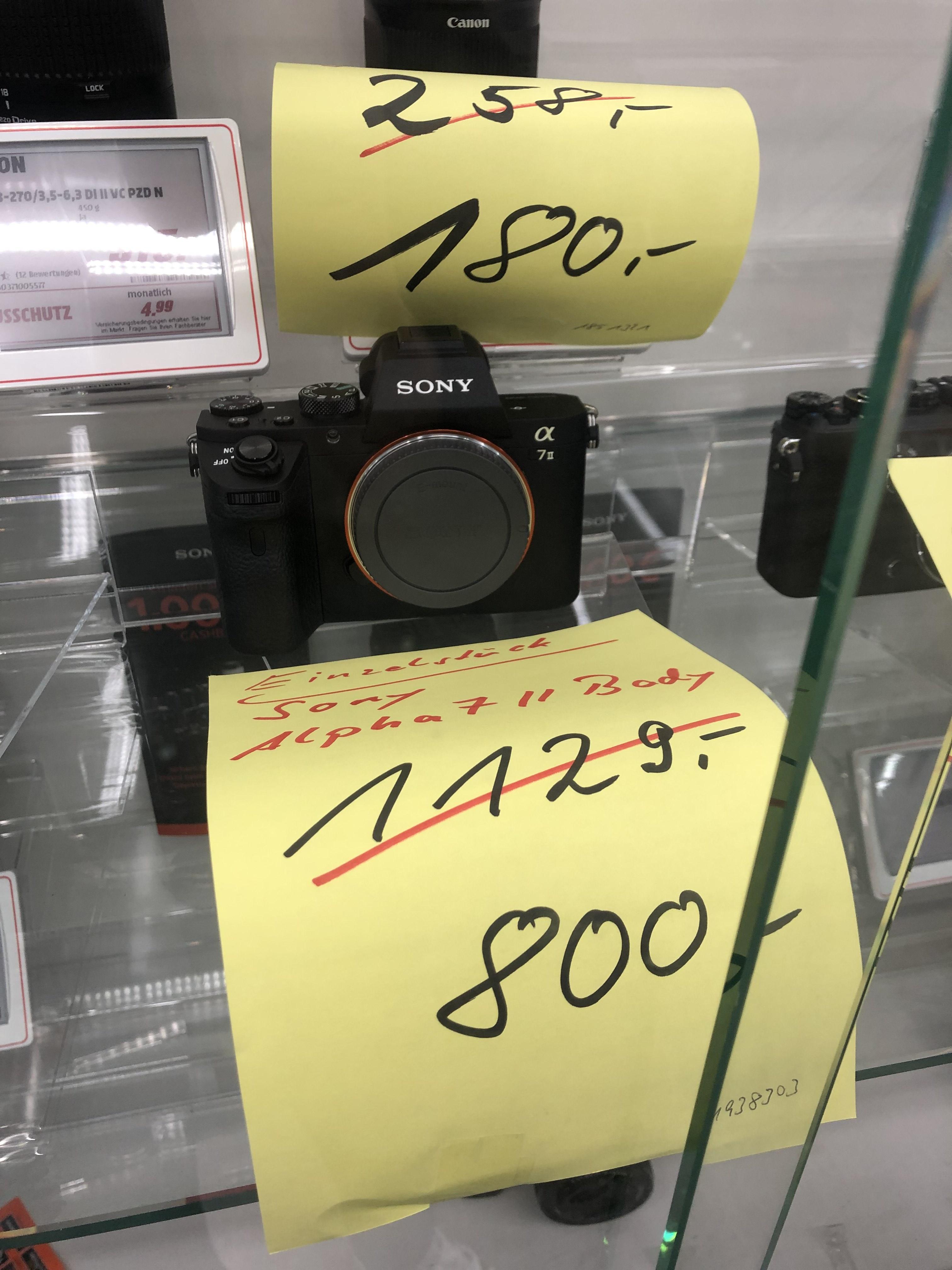 Sony Alpha 7 II Body - Lokal Bad-Cannstatt