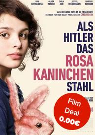 """[Cineplex Pforzheim] Gratis-Eintritt in """" Als Hitler das rosa Kaninchen stahl"""" am 08.01!!!"""