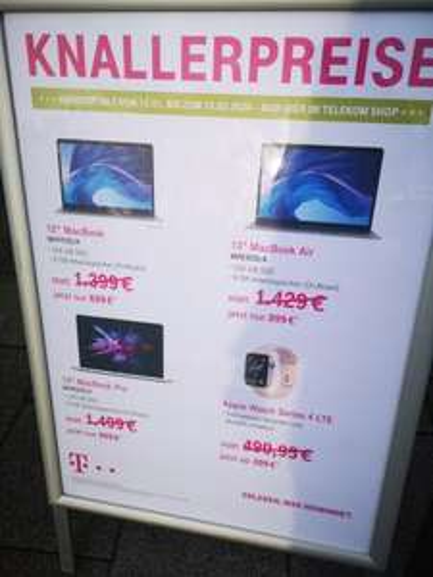 Diverse MacBook Pro und Air usw 699 statt 1099 (lokal Bonn)