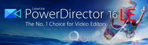 Cyberlink PowerDirector 16 LE (Windows) kostenlos