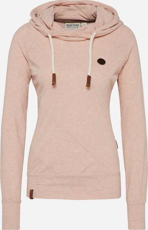 Heute 25% auf alles von naketano - z.B. Sweatshirt 'Mandy' in puder für 26,18€