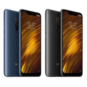 Xiaomi MI Pocophone F1 Smartphone 6+128GB Blau/Schwarz aus DE