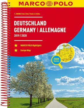 MARCO POLO Reiseatlas Deutschland 2019/2020 für 3,99 Euro [Terrashop]
