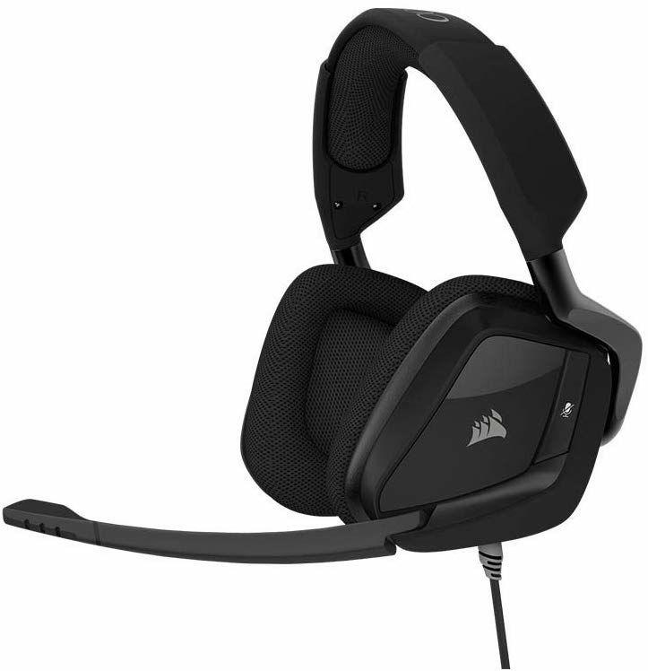 Corsair Void Pro Surround Gaming Headset (PC/PS4/Xbox One, USB, 3,5mm Klinke, Dolby 7.1) schwarz
