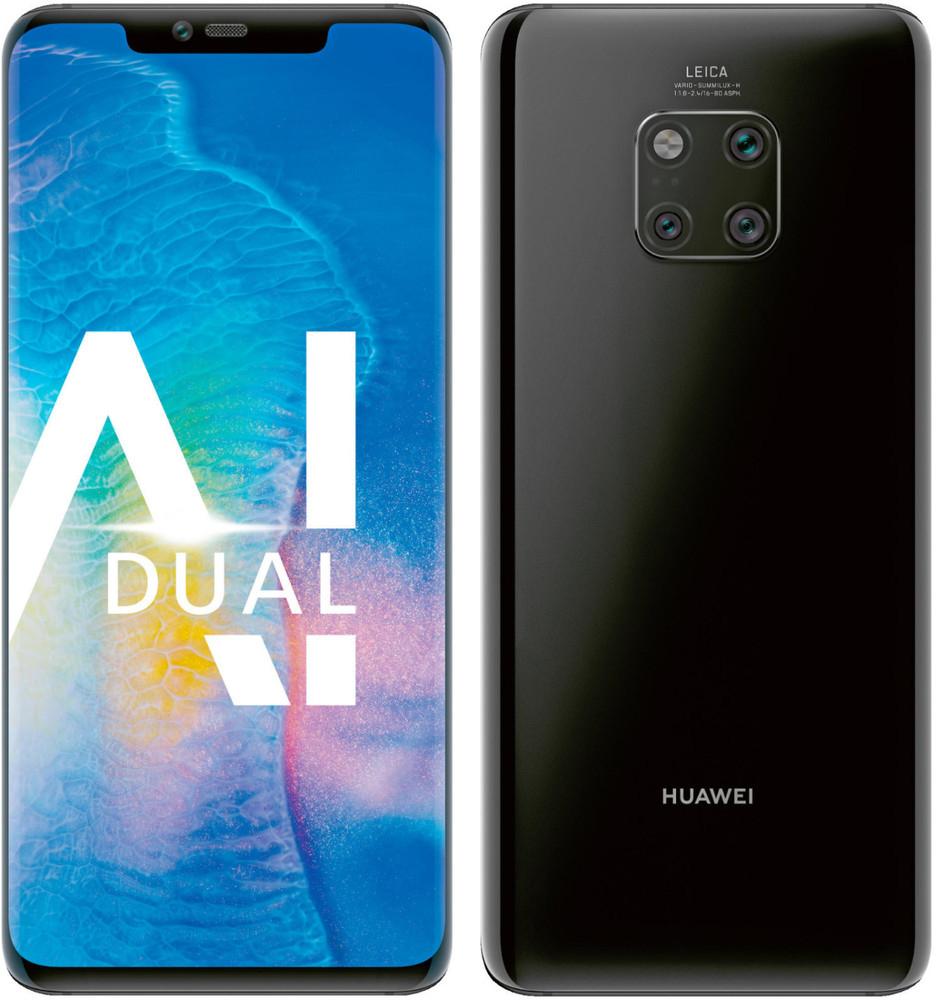 Huawei Mate 20 Pro Dual-Sim Smartphone (6,39 Zoll) 128GB schwarz - NEU