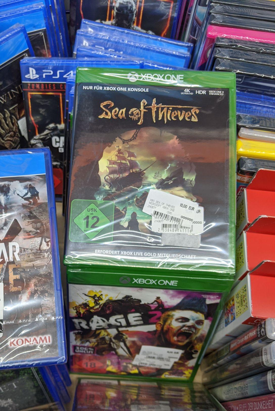 [Lokal] Sea of Thieves und Rage 2 für Xbox One für je 10€ im Saturn Karlsruhe Durlach