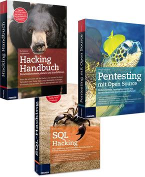 Verschiedene (Anti-)Hacker Bücher - z.B. Hacking Handbuch - Computersicherheit, Hacking, Penetrationstests