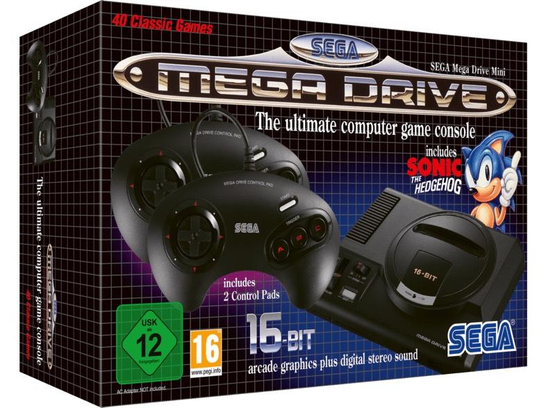 SEGA Mega Drive Mini Amazon + Saturn versandkostenfrei