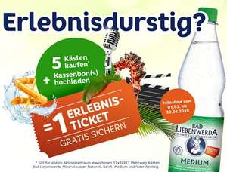 Tropical Islands Freikarte ab 21,45€ inkl. 5 Kästen Mineral-Wasser