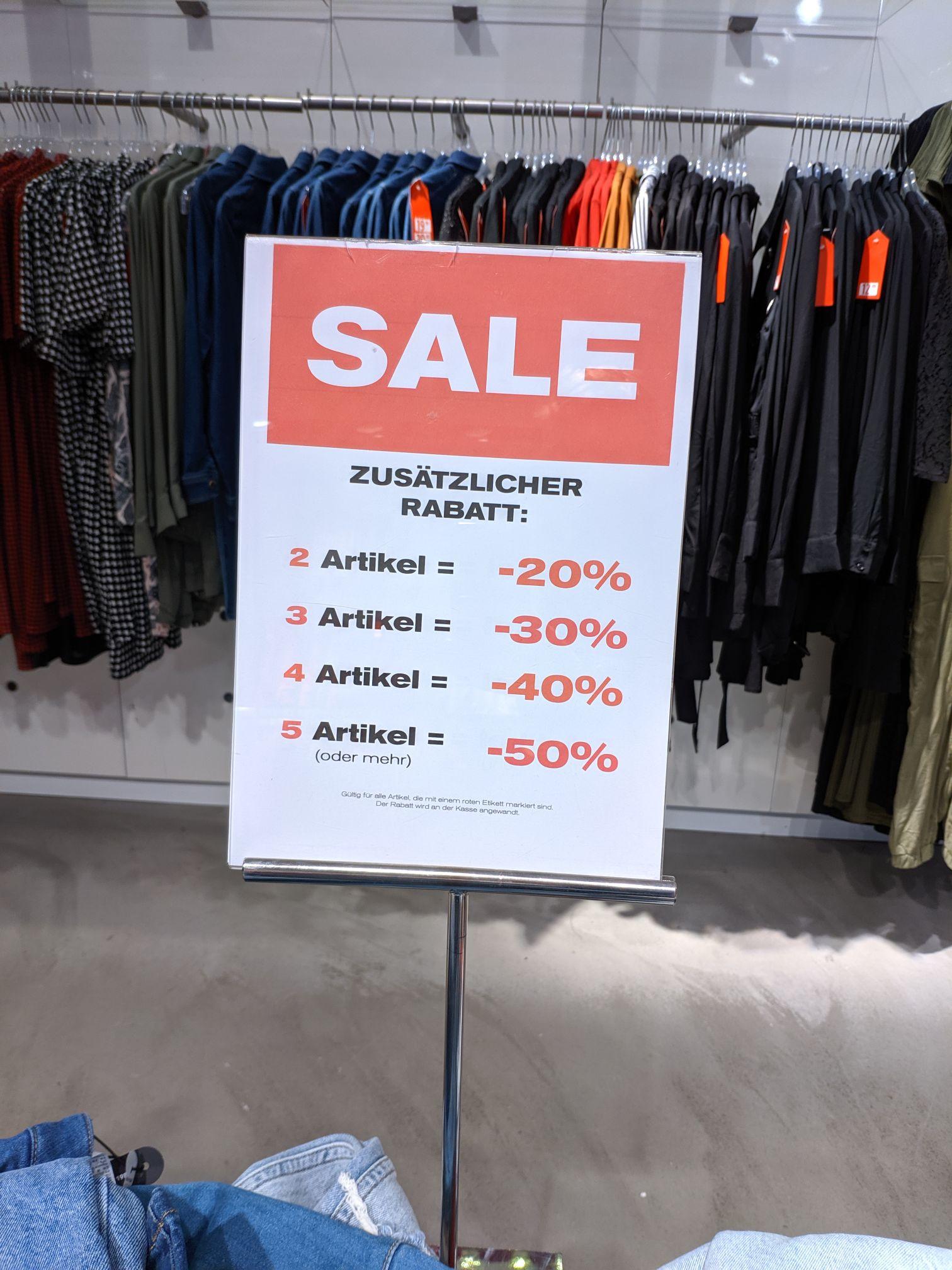 LOKAL KIEL - Talls-Weiljl bis zu 50% zusätzlich auf den gesamten Sale