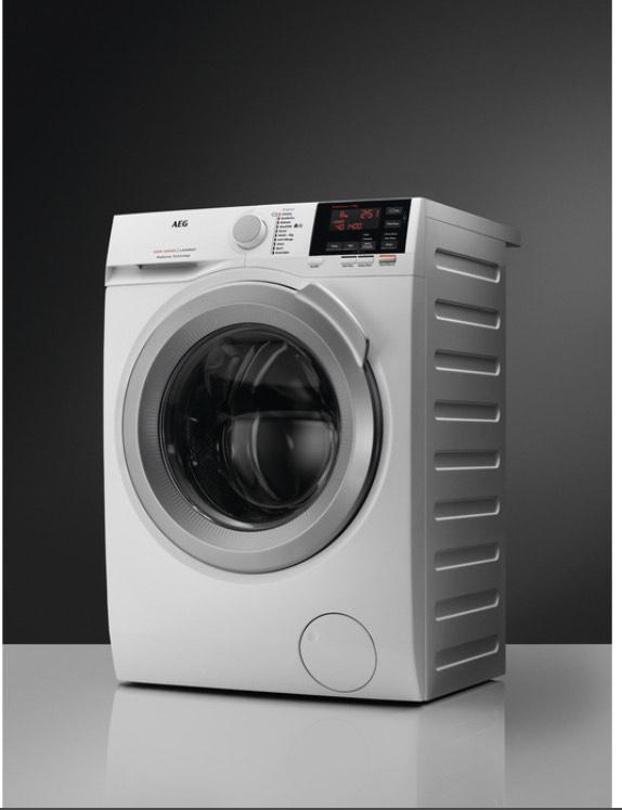 [Expert] A+++ Waschmaschine AEG L6FB647FH, Mengenautomatik, Nachlegefunktion, 7KG, 1400 U/min, ProSense Technologie, Eco + ZeitSparen-Option