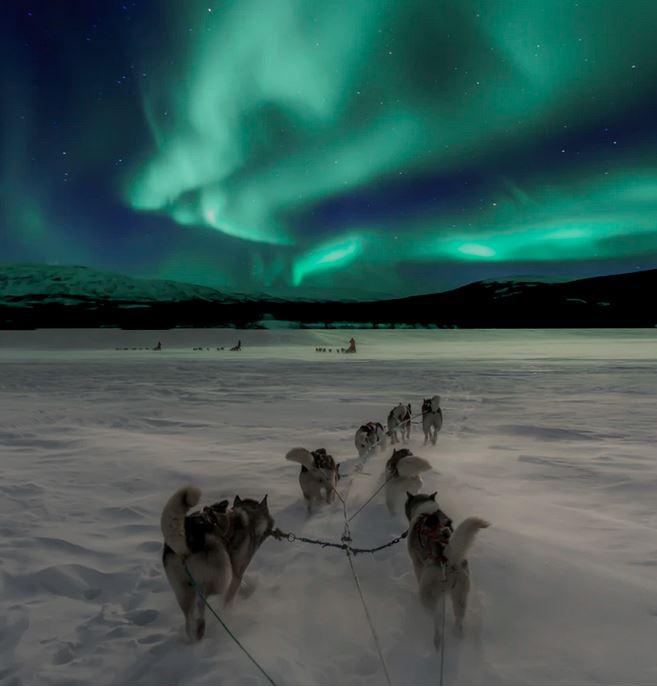Flüge: Lappland / Finnland [März] Hin und Zurück von Amsterdam nach Ivalo, Kittila (...) ab nur 62€ (großes Handgepäck)