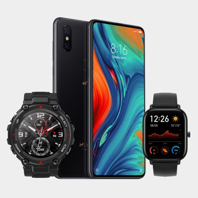 o2 Free S Boost (6GB LTE, Connect) mtl. 24,99€ + Xiaomi Mi Mix 3 5G mit Amazfit T-Rex Smartwatch (29,95€ ZZ) oder Amazfit GTS (4,95€ ZZ)