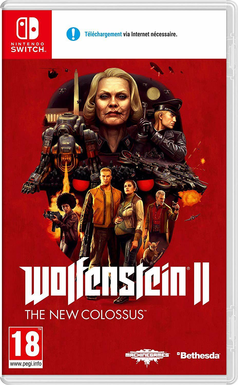 Wolfenstein 2: The New Colossus (Switch) für 18.02€ (Amazon.fr)