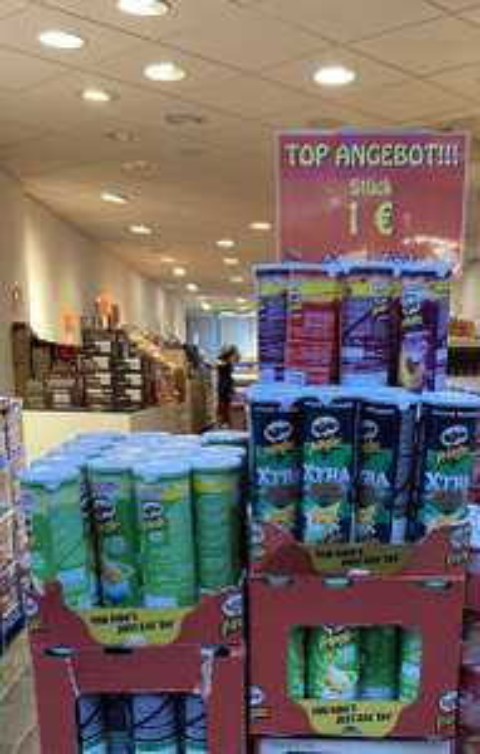 Pringles verschieden Sorten für 1 Euro in Köln
