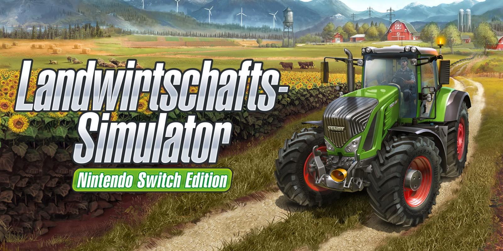 Landwirtschafts-Simulator Nintendo Switch Edition im eshop für 14,99 statt 29,99 EUR