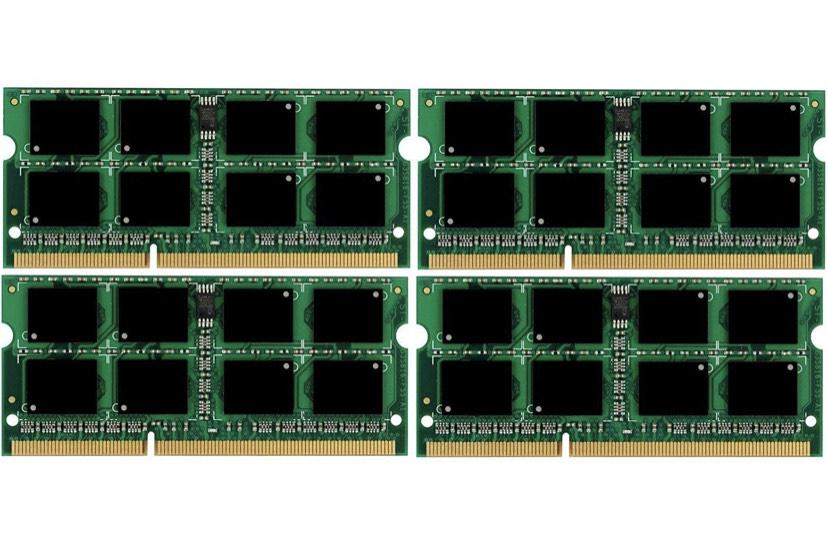 [Amazon Prime] Micron 3rd 32GB Kit (4 x 8 GB) 204 pin DDR3-1866 SO-DIMM [Preisfehler]
