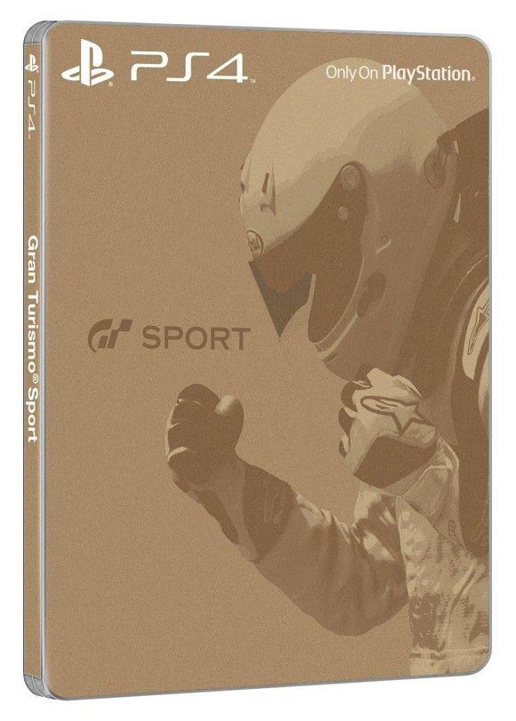 Gran Turismo: SportSteelbook Edition (PS4) [Coolshop]