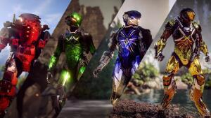 """Anthem vier exklusive """"Verstärkt""""-Folien & das neue Material """"Lackierte Metall-Flocken"""" (PC, PS4 & Xbox One) kostenlos bis zum 24. März"""