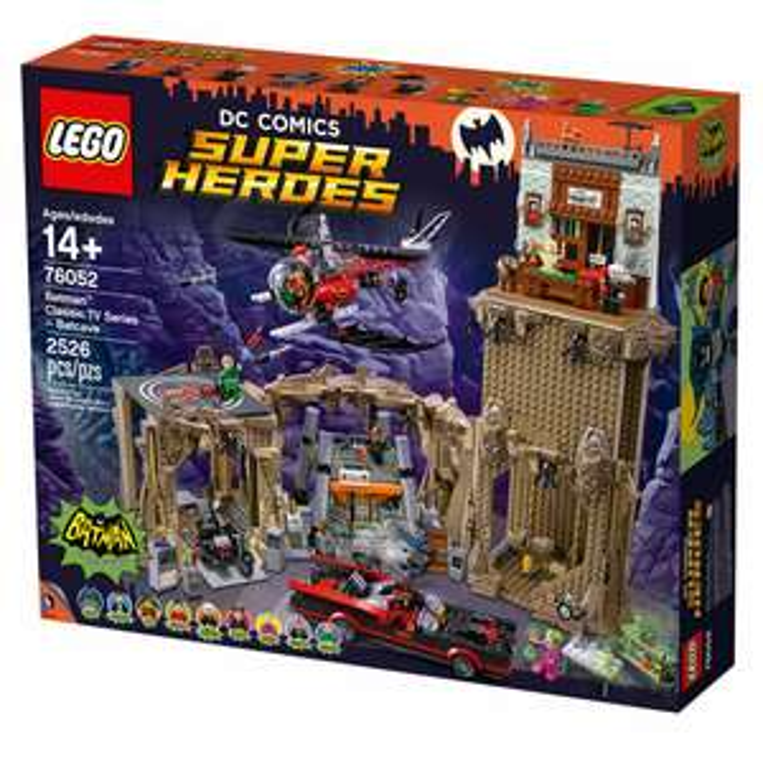LEGODC Comics Super Heroes Batcave (76052)