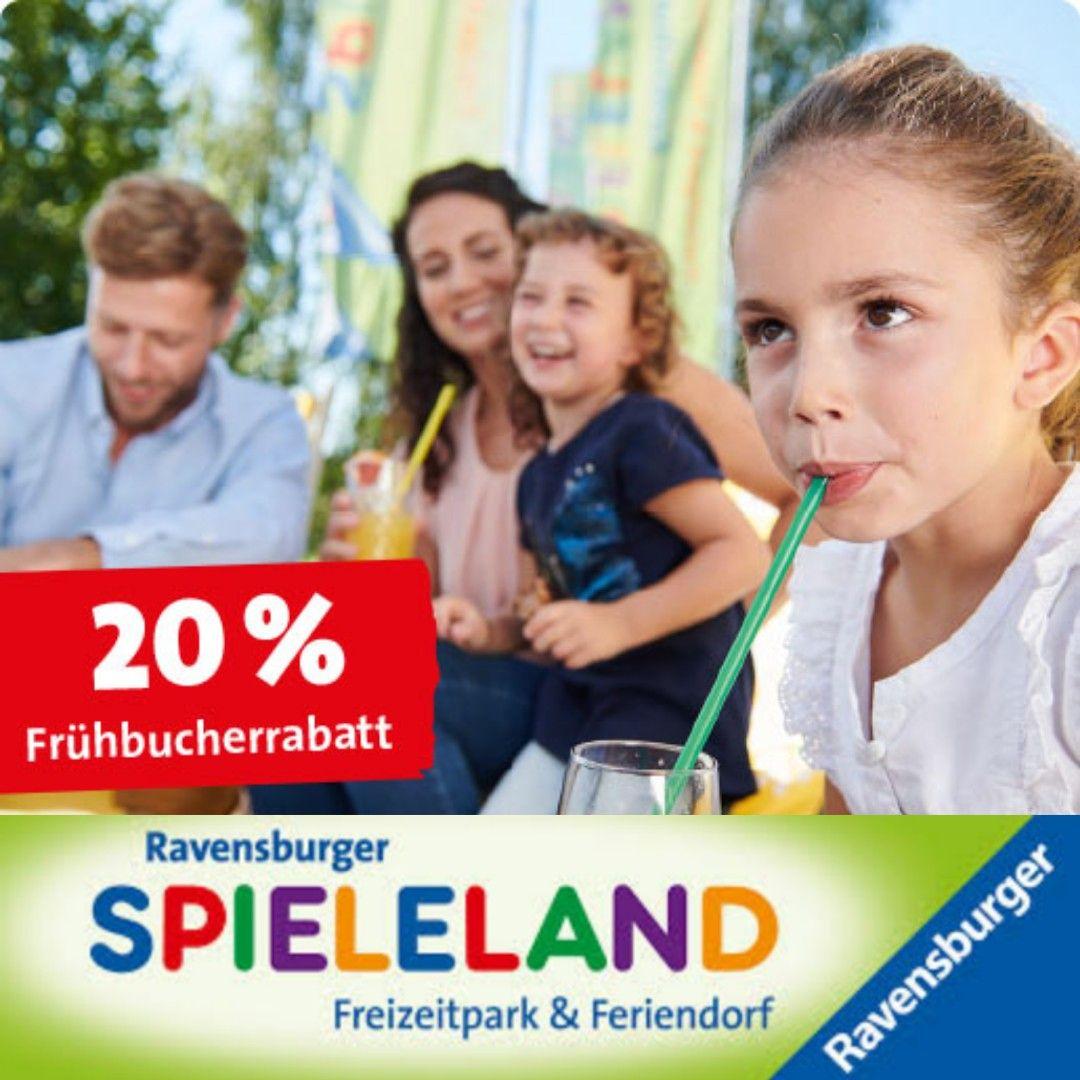 [Ravensburger Feriendorf] Ferienhaus Frühbucher Rabatt von 20% für best. Tage (inkl. Ferien), Platz für 2-6 Personen, inkl. Frühstück