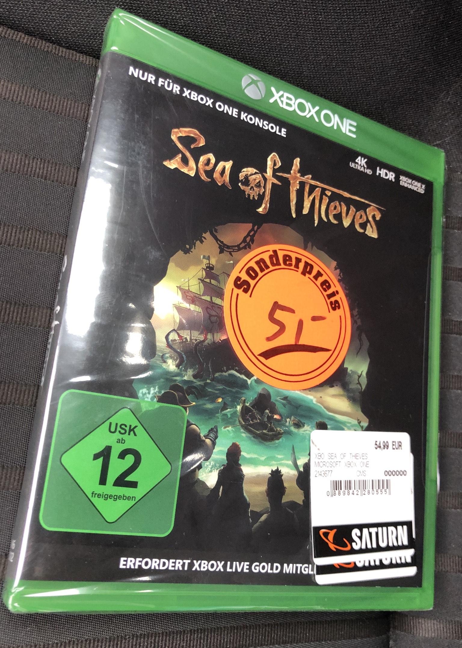 Lokal - [Saturn Hamm] Sea of Thieves (Xbox One)