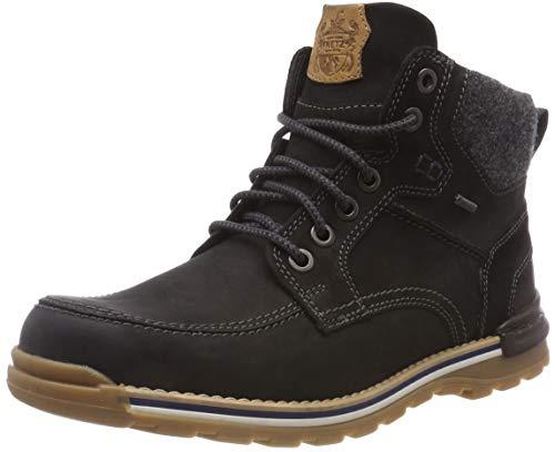 (Amazon ) Gr.41/42/45/46 Fretz Men Cooper Chukka Leder Winter-Boots, GORE-TEX *black