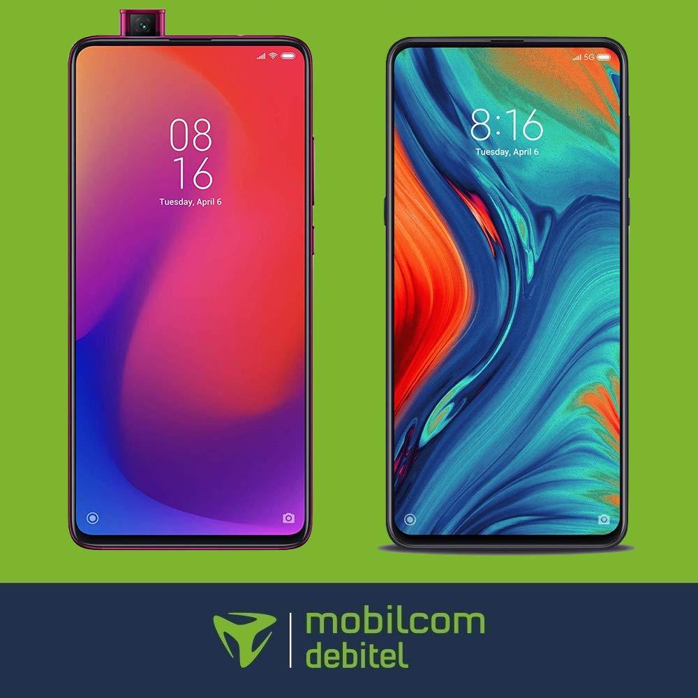 mobilcom debitel Free Unlimited Smart (10 Mbit/s) mtl. 29,99€ inkl. Xiaomi Mi 9T 128GB, Xiaomi Mi 9T Pro 128GB od. Xiaomi Mi Mix 3 5G