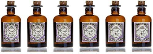 [Amazon Prime] Monkey 47 Schwarzwald Dry Gin Miniatur, 6er Pack (6 x 0.05 l) =0,3l